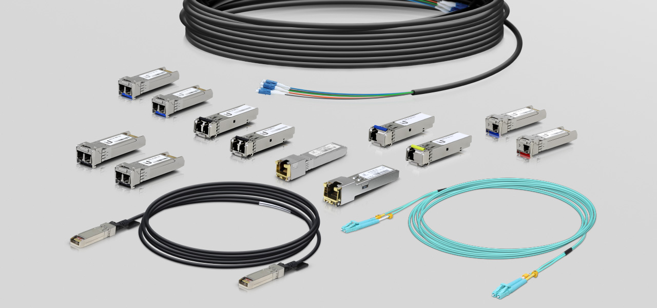 Ubiquiti - Fiber Modules & Cable