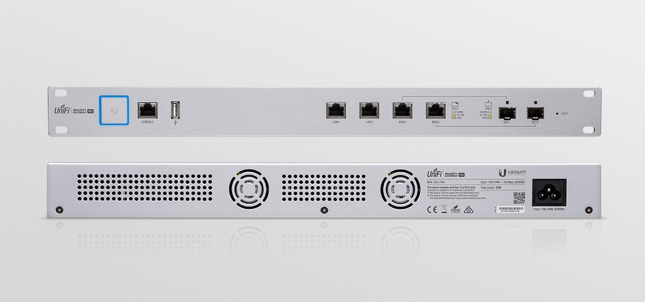 Ubiquiti Networks - UniFi® Security Gateway Pro 4