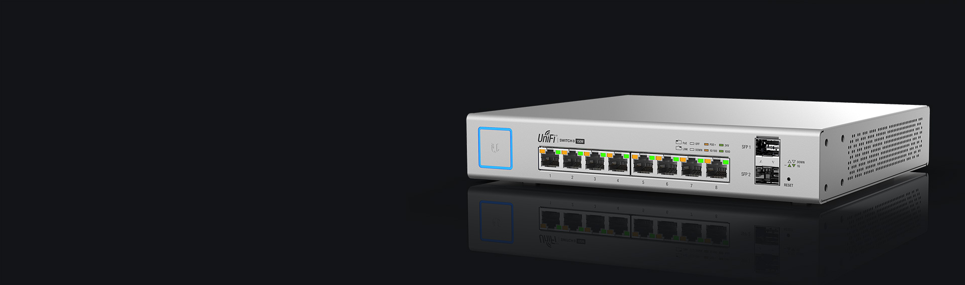 Ubiquiti Networks Unifi 174 Switch 8 150w