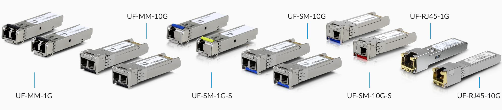 for Ubiquiti UF-SM-1G-S 1.25G SFP Module BIDI WDM Transceiver 10-20KM Simplex LC 1310//1550nm 1Pair
