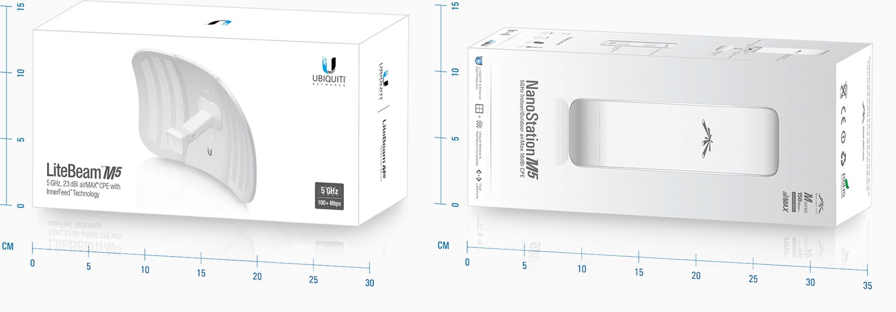 Litebeam 5 GHz 23 dBi Accesorio de Red Ubiquiti LBE-M5-23