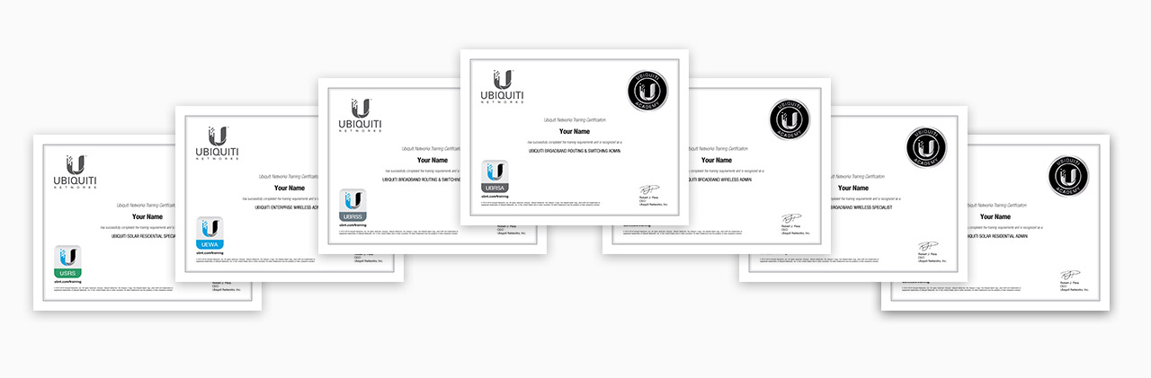 Ubiquiti - Training Courses